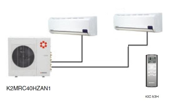 Kentatsu K2MRC40HZAN1